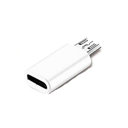 USB-C (weiblich) Adapter, LoongGate Micro USB (männlich) auf USB Typ C (weiblich) Stecker Sync- und Ladeadapter für Digitalkamera, Power Bank, Samsung Galaxy S7, S7 Edge und mehr