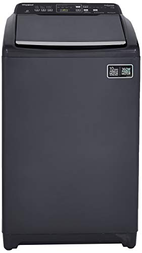 Whirlpool 7.5 Kg Fully-Automatic Top Loading Washing Machine (Stainwash Deep Clean (N) 10 YMW, Grey, Inbuilt)