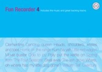 Kevin Mayhew FUN RECORDER 4 + CD Partition classique Bois Flûte à bec