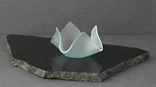 Klaner Kerzenständer Blütenschale aus Glas