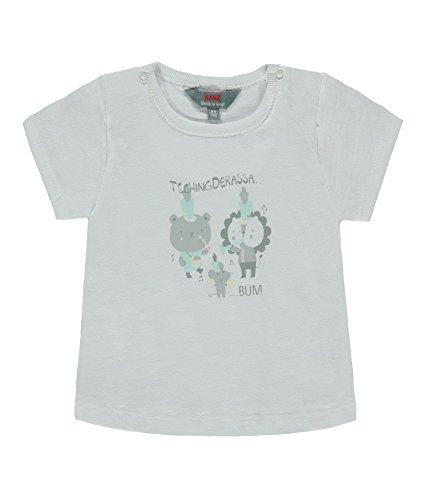 Kanz Jungen T-Shirt 1/4 Arm 1832863, Weiß (Bright White 1000), 68