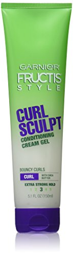 Garnier Fructis Style Curl Sculpting Cream-Gel, Extra Strong, 5 OZ. (142 g) (Haargel) -
