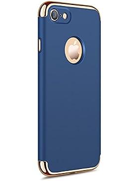 Neivi Funda Iphone 7, Iphone 7/Iphone 8 Carcasa Funda Protectora 3 EN 1 Carcasa Caso Bumper Delgado PC Hard Funda...