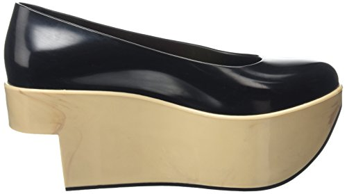 Vivienne Westwood & Melissa Vw Rocking Horse, Escarpins et Chaussures à Talon avec Semelle Plateforme Femme Noir - Black (51496-Black)