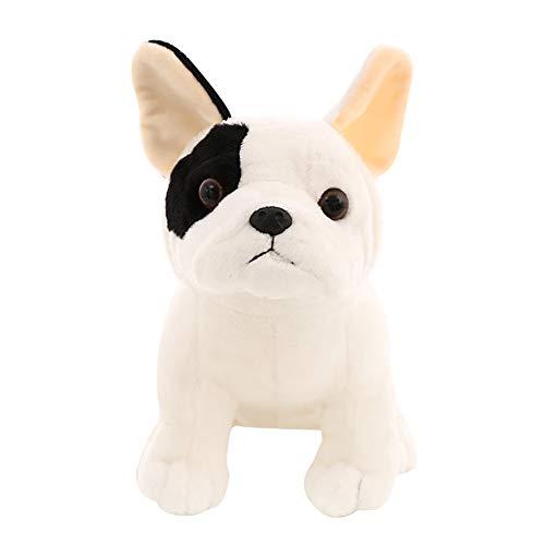 Man9Han1Qxi Reizender sitzender Bulldoggen-Puppen-Plüsch angefüllte umarmende Wurfs-Kissen-Spielzeug-Foto-Stützen 22cm - Fünf Puppen Jahr Für Alt