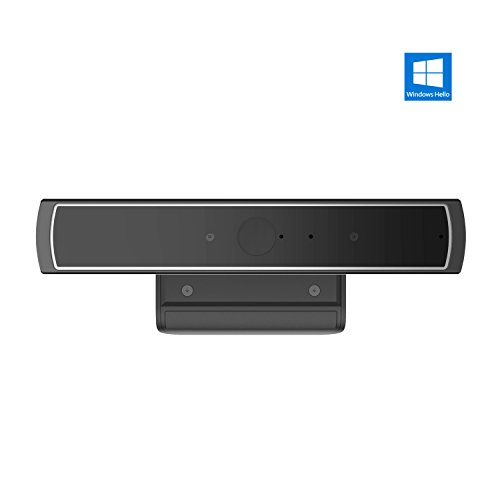 YOOFAN Windows Hello Kamera, HD Webcam mit Dual-Mikrofon, USB Gesichtserkennungs Kamera, IR Kamera, Microsoft Anerkannt