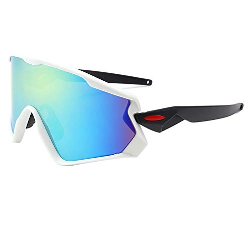 CAR-TOBBY 2019 Cycling Glasses Mountain Bicycle Road Bike Sport Sunglasses Mens Cycling Eyewear Sunglasses(H04)