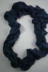 Unbranded - Echarpe femme - bleu marine