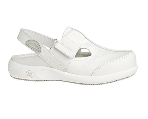 Oxypas Anais, Chaussures De Sécurité Pour Femme, Bianco (lbl), 39 Bianco (blanc (wht))