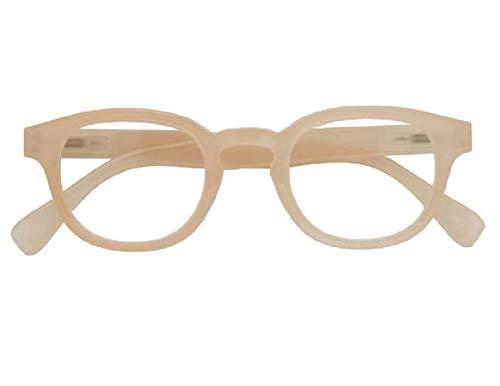 Croon Glasses Montel Milky Rosa - Lesebrille - +1.5 - Für Männer und Frauen - Federscharnieren