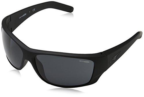 Arnette Herren 0AN4215 447/87 66 Sonnenbrille, Schwarz (Fuzzy Black/Grey),