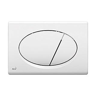 WC-Betätigungsplatte weiß 070 ALCA