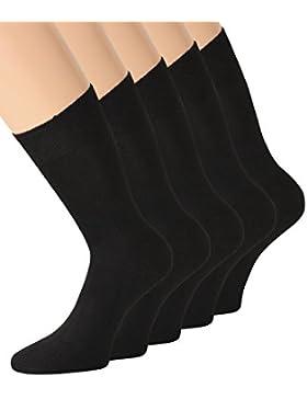 Herrensocken Schwarz Socken schwarz Herren schwarze Socken Herren 100 Baumwolle 43-46 47-50 39-42 auch Übergröße...