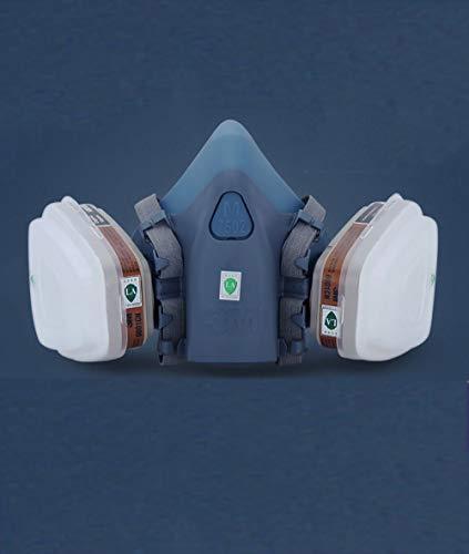 Gasmaske 7502 Atemschutzmaske industrielle Sprühfarbe Maske Staub chemische Schädlingsbekämpfungsmittel Spray Smog PM2, 5