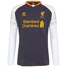 Warrior Liverpool - Camiseta de fútbol infantil, tamaño L, color morado oscuro