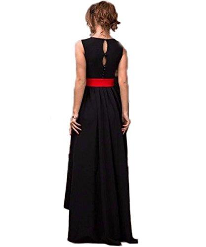 CoCogirls -  Vestito  - linea ad a - Donna Nero