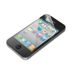 Belkin iPhone 4 / 4G Screen Protectors Pack of 3 ClearScreen Overlays provide... Belkin Screen Overlay