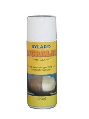 Messing-Lack zum Schutz von Messing, Kupferrohren und Oberflächen, 400ml Spraydose