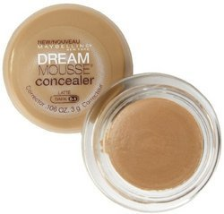 Maybelline Dream Mousse Concealer - Dark 0/1 Latte