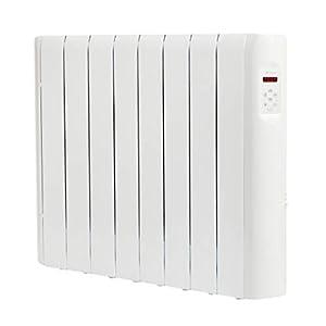 Haverland RCE8S – Emisor Térmico Digital Fluido Bajo Consumo, 1200 de Potencia, 8 Elementos, Programable, Exclusivo Indicador De Consumo