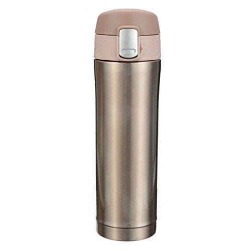 500 ml Thermos - SODIAL(R)500 ml Thermos Tee, isolierten Edelstahlbecher, Kaffeetasse, Wasserflasche...