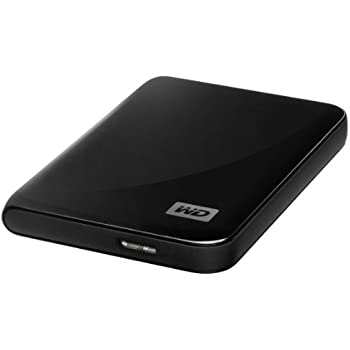 "WD MY Passport Essential Hard Disk Esterno, 500 GB, 2.5"", USB 3.0, Nero"