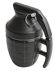 Idea Regalo - Ailiebhaus Granata tazza in ceramica con coperchio della tazza di caffè novità