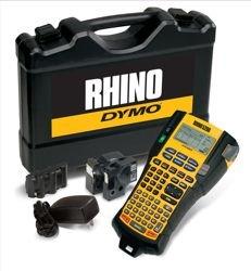 Dymo Rhinopro 5200stampante Labelmaker kit caricabatteria e