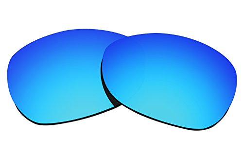 COLOR Stay Objektiv, 2 mm dick, polarisiert, für Oakley Crosshair 2012 (OO4060), CSL62, Blue Mirror Coatings