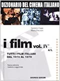 Dizionario del cinema italiano. I film: 4\1