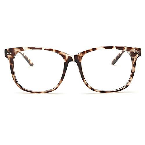 YLNJYJ Sonnenbrillen Jahrgang Klare Linse Brillen Frames Für Männer Frauen Transparente Gefälschte Gase Runde Optische Brillen Nerd Eyewear Spectacle