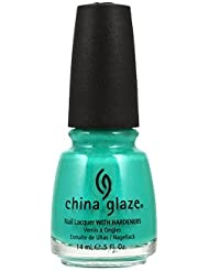 China Glaze Vernis à Ongles Effet Irisé Turned Up Turquoise 14 ml