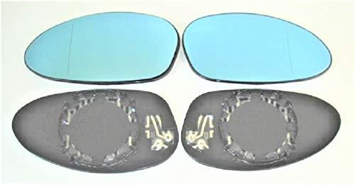 Spiegel Spiegelglas Links + rechts 2er Set beheizt Ersatzglas für elektrische Aussenspiegel