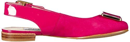 Clarks Damen Festival Fizz Slingback Pink (Fuchsia Nubuck)