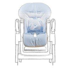Ricambio seggiolone in pvc baby re azzurro