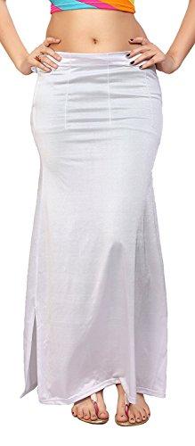 Paras Saree Centre Women's Cotton petticoat,(La fe01_M1_White_Freesize)