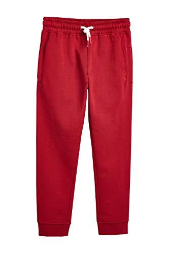 next Jungen Jogginghose Rot 9 Jahre (Herren Kleid Hose Slim Fit Wolle)