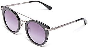 Guess Sunglasses Gf6046 01B 49 Gafas de sol, Negro (Schwarz), Mujer