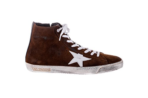 Sneakers Golden Goose Francy in Suede Crema