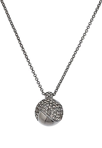 JETTE-Magic-Passion-Damen-Collier-Sun-kisses-moon-Metall-104-Kristall-silber-One-Size