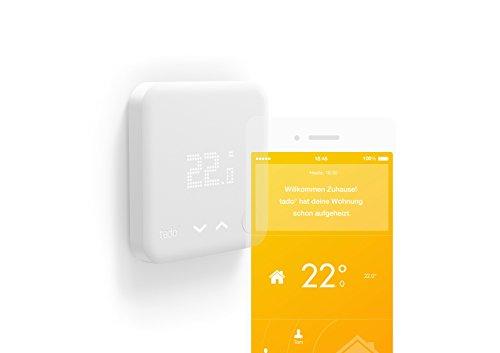 tado° Smartes Thermostat Starter Kit (v2) - intelligente Heizungssteuerung per Smartphone