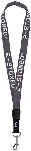 original-2stoned-schlusselband-classic-logo-in-anthrazit-25cm-breit