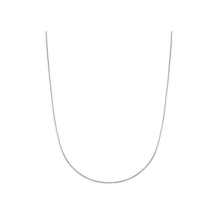 Schlangenkette Sterling-Silber 925 rund 1 mm flach 55,9 cm