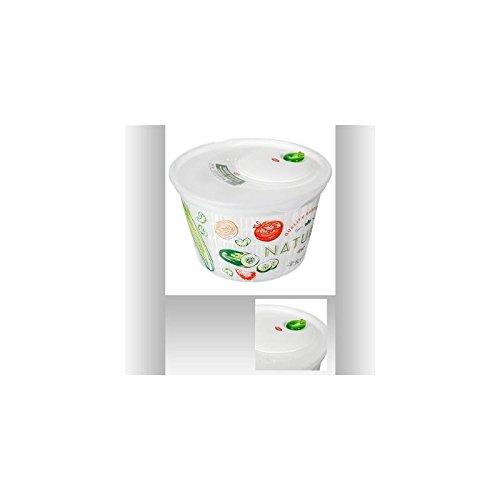 Essoreuse à salade mécanique 4L - Blanc