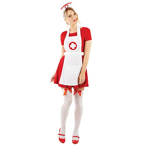 ume Kostüm, Nurse, Einheitsgröße ()