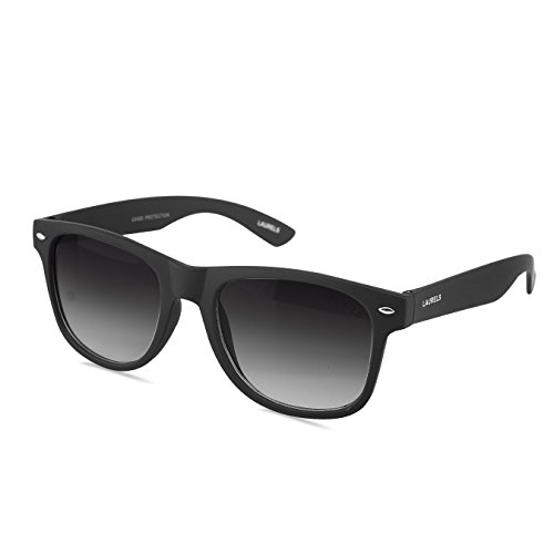 Laurels Wayfarer Men Sunglasses(Ls-Urb-020202_52_Black)