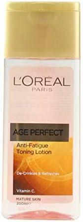 loreal age perfect toning lotion anti fatigue 200ml