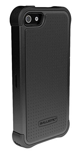 Ballistic SG Shell Gel Schutzhülle Case Cover für iPhone 5/5S - Schwarz Sg Shell Gel