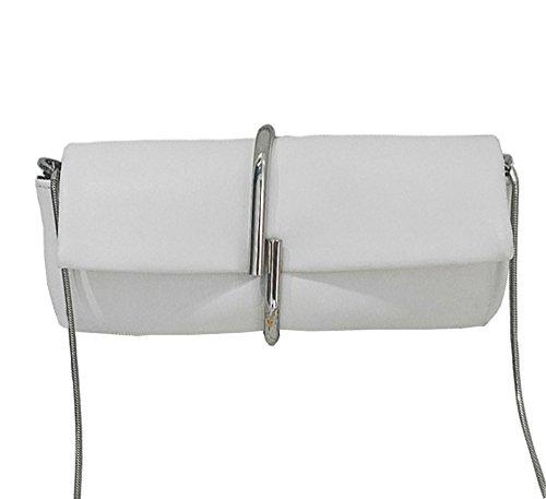 spalla-borse-multi-funzionare-stile-semplice-leggero-catena-strap-donna-bianco