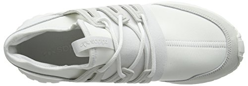adidas Tubular Radial, Baskets Basses Mixte Adulte Blanc (Crystal White/Crystal White/Crystal White)